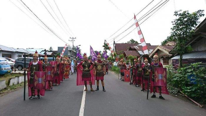 Penatua Risko Apresiasi Pemuda Wilayah Tondano 3 Raih Juara 2 Pawai Alegori