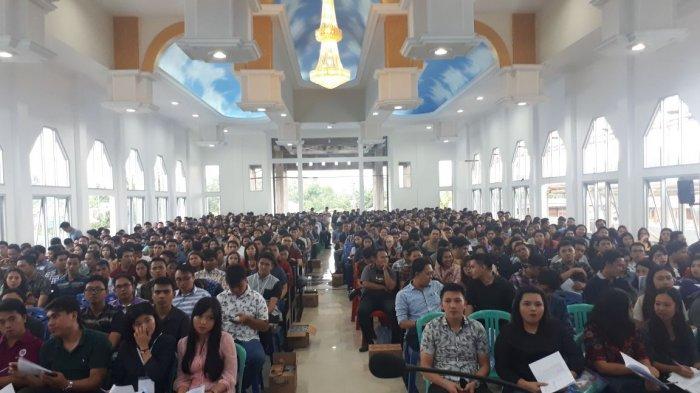 Peserta Terbanyak Penjabaran Program Pemuda Sinode GMIM di Wilayah Kema