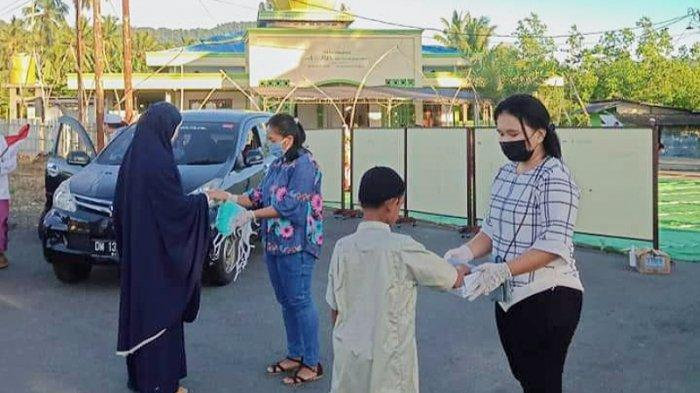 Toleransi di Bolmut, Pemuda Jemaat GMIBM Centrum Boroko Jadi Panitia Salat Idul Fitri