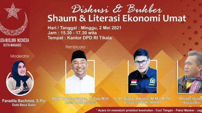 Pemuda Muslimin Indonesia Cabang Manado Gelar Buka Puasa Bersama dan Diskusi Terbatas