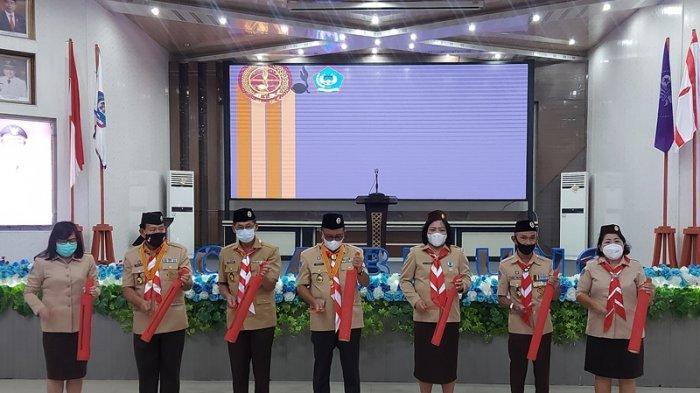 Isyarat Axel Galatang, Rita Tangkudung Terpilih Ketua Kwarcab Gerakan Pramuka Bitung