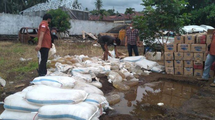 Polres Minsel Musnahkan 9.124 Liter Miras Captikus