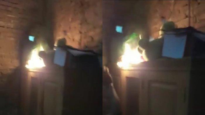 BREAKING NEWS - Geger Fenomena Percikan Api Misterius di Desa Boroko Bolmut