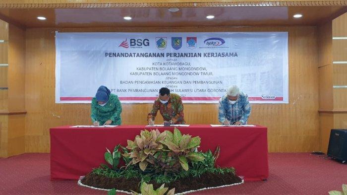 penandatangan Memorandum of Understanding (MoU) dan Perjanjian Kerja sama (PKS)
