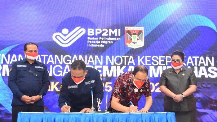 BP2MI Kerja Sama dengan 4 Daerah di Sulut, Sepakat Beri Perlindungan Maksimal ke Pekerja Migran