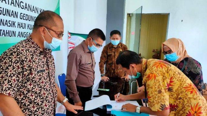 Pembangunan Balai Nikah dan Manasik Haji KUA di Lolayan Resmi Dimulai