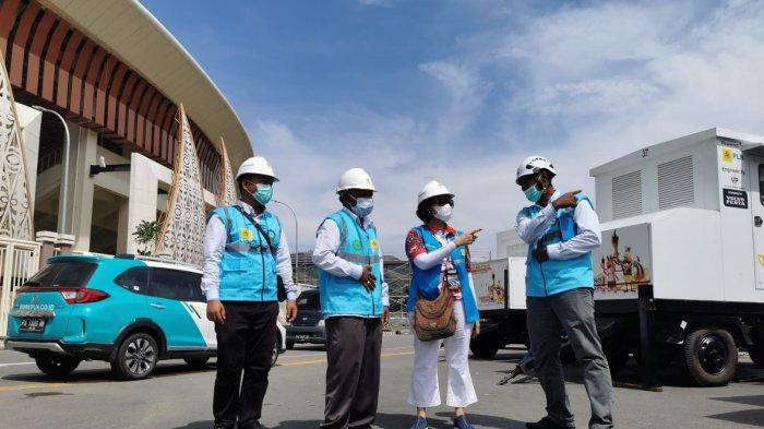 Penandatanganan perjanjian sponsorship penyelenggaraan PON XX Papua, Selasa (14/09).
