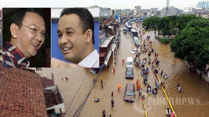 Ramalan Ahok Soal Banjir Jakarta, Air Kepung Ibu Kota, Ahok: Pak Gubernur Lebih Pintar dari Saya