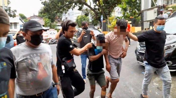 Mencuri di Tempat Wisata, Dua Pemuda Bitung Diamankan Resmob Polda