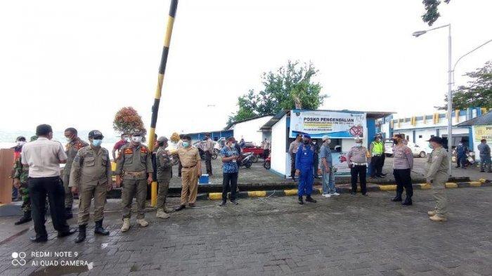Kapolres Talaud Pantau Langsung Penumpang Kapal di Pelabuhan Melonguane