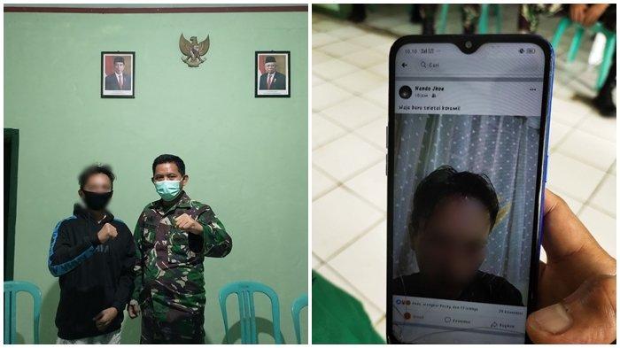 Posting Status Medsos Terkait Instansi Koramil, Lelaki Rinando Pongoh: Saya Mohon Maaf Kepada TNI