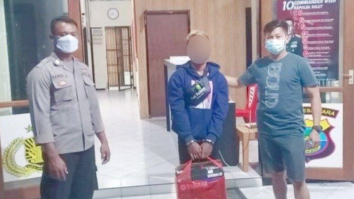 Usai Membobol Sebuah Rumah, Pencuri di Talaud Ini Jual Barang Curian Ke Pemiliknya