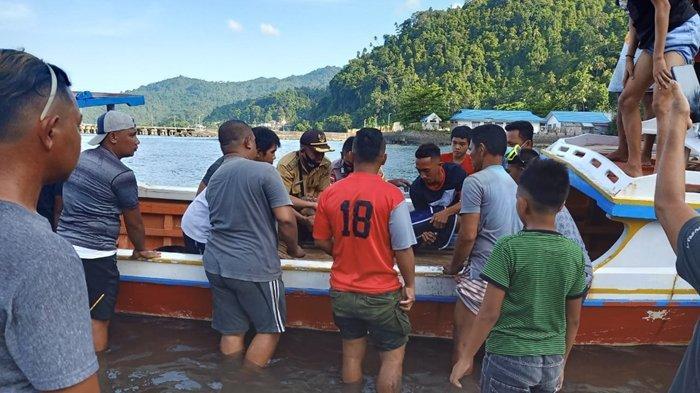 Penemuan mayat di perairan laut Kampung Bandil Kecamatan Siau Timur Selatan (Sitimsel) Kabupaten Kepulauan Siau Tagulandang Biaro (Sitaro)