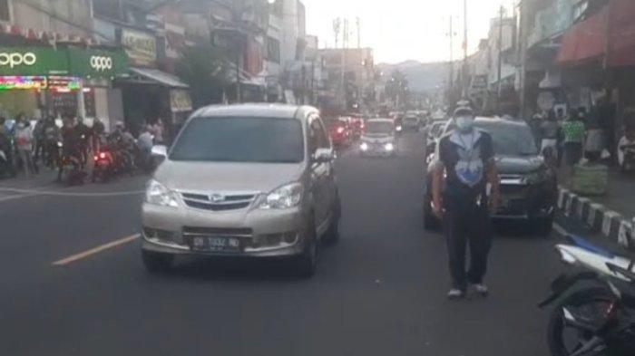 Uji Coba Berjalan Lancar, Lalin Dua Arah di Pusat Kota Tomohon Bakal Terus Diterapkan