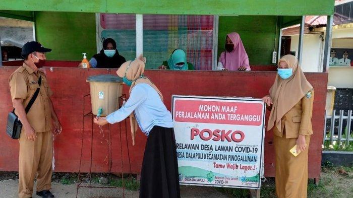 Terkait Penerapan PPKM, 22 Desa di Kecamatan Pinogaluman Bangun Rumah Singgah