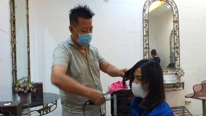 Kiat Salon Top Image Bertahan di Masa Pandemi Covid-19, Protokol Kesehatan Tetap Dijalankan