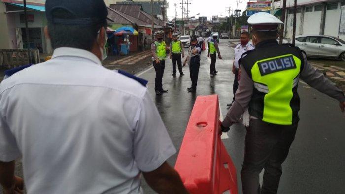 Dishub dan Polisi Mitra Tertibkan Parkiran di Kawasan Plaza Ratahan