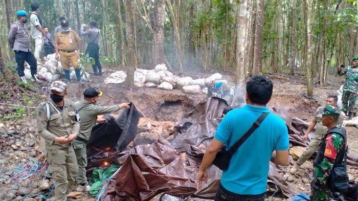 SeorangWarga Tewas di Kawasan Kebun Raya MegawatiSoekarnoputri saat Lakukan Penambangan Liar