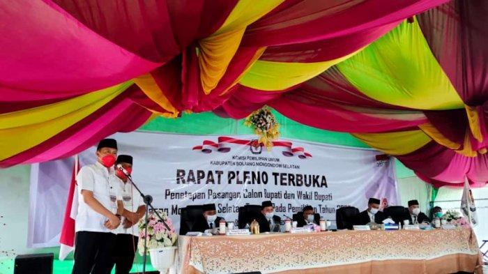 Ditetapkan Sebagai Pemenang Pilkada Bolsel, Iskandar Kamaru Apresiasi Pasangan Riski