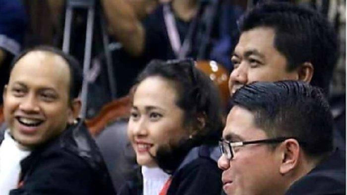 Sosok Christina Aryani, Kuasa Hukum Paslon 01 Jokowi-Ma'ruf di Sidang MK, Kerap Disorot Kamera TV