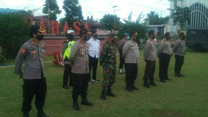 Pengamanan Malam Pergantian Tahun, TNI-Polri Bersama Instansi Terkait Gelar Apel Gabungan