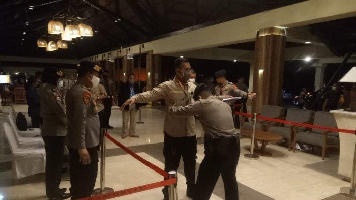 Polda Sulut Laksanakan Operasi Mantap Praja 2020 dalam Debat Tahap II