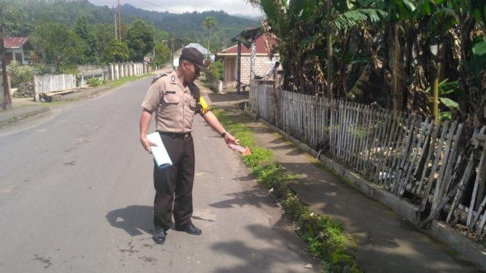 Polsek Kawangkoan Tangkap Pelaku Penganiayaan di Desa Tondegesan