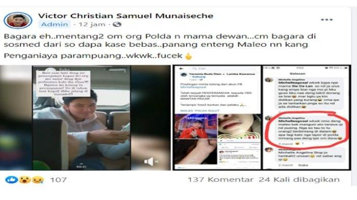 VIRAL Pria Penganiaya Perempuan Dibebaskan Polisi, Katanya Om-nya Berbintang di Polda, Ibunya Dewan