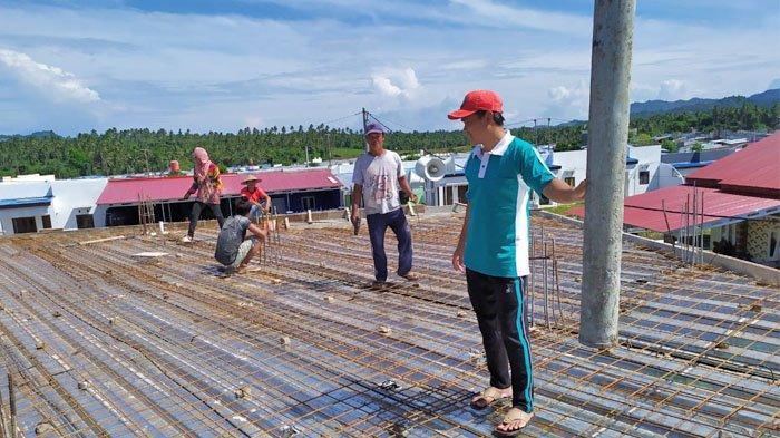 Pembangunan Masjid Baitul Khoir Terus Berlanjut, Ramadan: Hari Ini Pengecoran Lantai 2