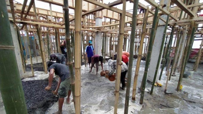 Jelang Ramadan, Pembangunan Masjid Baitul Khoir Terus Digenjot, Ketua BTM: Masih Harapkan Bantuan