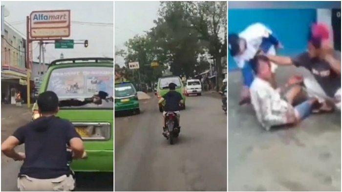 Sopir 18 Tahun Babak Belur Dihajar Massa, Bawa Angkot Ugal-ugalan Tabrak Warga hingga 2 Orang Tewas