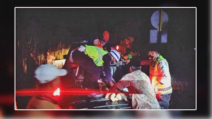 Kecelakaan Motor Tertabrak Kereta Api, Satu Orang Tewas, Berikut Nama Korban