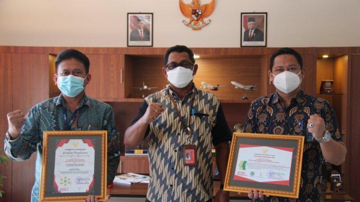Bandara Samrat Manado Raih Penghargaan, 4,3 Juta Jam Tanpa Kecelakaan