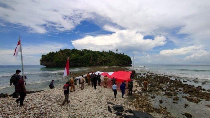 Ekspedisi Merah Putih Wujud Nyata Sinergitas Lanal Melonguane dan Pemkab Talaud