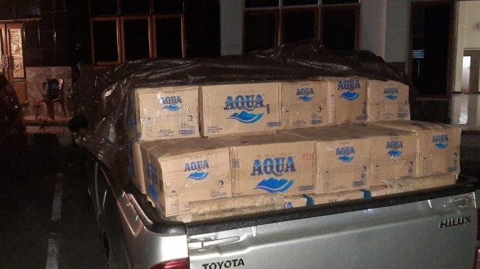 Ribuan Liter Cap Tikus Diamankan Polisi Saat Akan Dibawa ke Manado