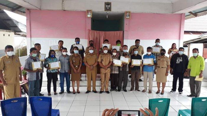 DKPP Talaud Kukuhkan Kelompok Tani  se-Kecamatan Pulutan, Kadis: Ada Dinas, Karena Ada Petani