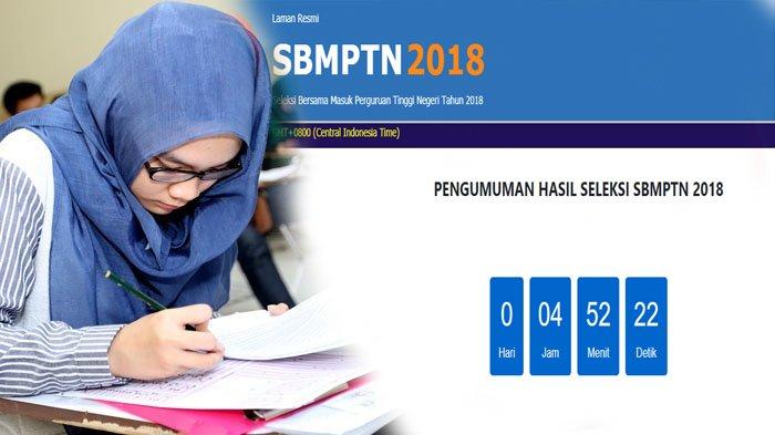 Hasil SBMPTN 2018 Diumumkan Sore Ini, Silakan Akses Link-link Ini