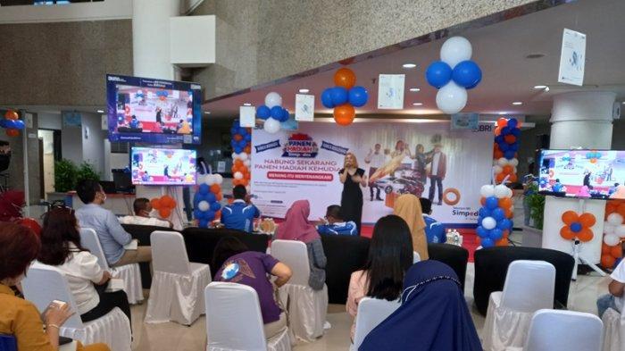 Pengundian hadiah simpedes Bank BRI Cabang Manado