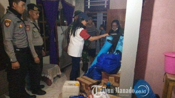 Gunung Karangetang di Sitaro Muntahkan Lava Panas, Wanita iniHanya Bawa Alkitab saat Dievakuasi
