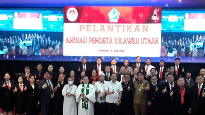 Asosiasi Pendeta Sulut Terbentuk, Pdt Michael Pangalila Ketua Umum, Berikut Struktur Lengkapnya