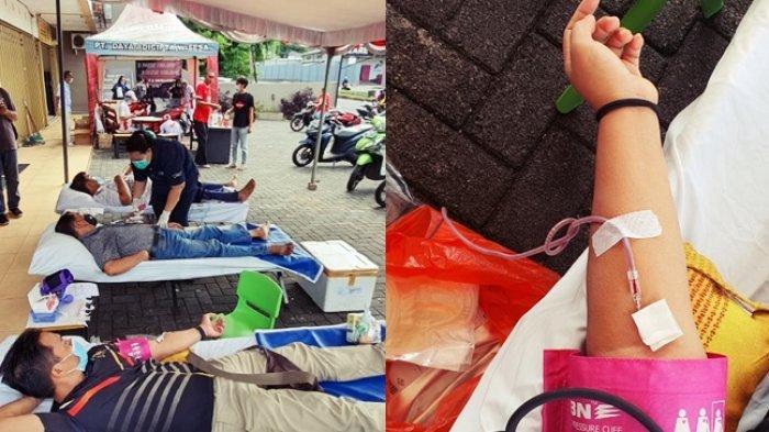 KKSS Mapanget Gelar Kegiatan Donor Darah: Kegiatan Dirancang Dalam Waktu yang Cukup Tepat
