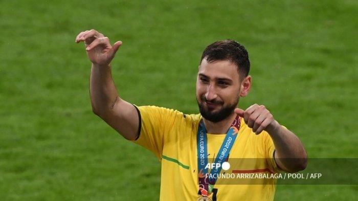 Gianluigi Donnarumma Pahlawan Italia, Jadi Pemain Terbaik Euro 2020 Usai Tinggalkan AC Milan