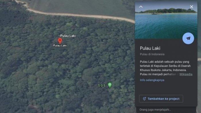 Penjelasan soal Tanda SOS yang Muncul di Maps, Mirip di Pulau Laki Dekat Lokasi Sriwijaya Air Jatuh