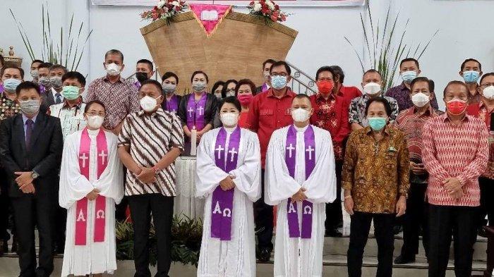 Resmikan Gereja KGPM Getsemani, Gubernur Sulut Olly Dondokambey Ajak Jemaat Wajib Bersyukur