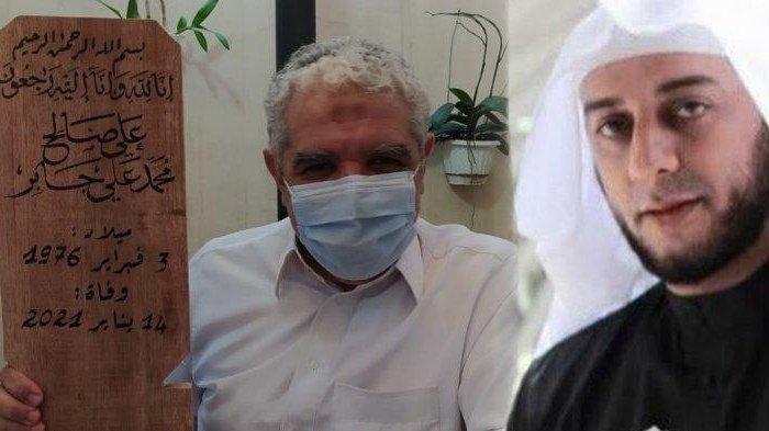 Sosok Istimewa Pembuat Papan Nisan Syekh Ali Jaber, Kaligrafer Internasional Bersanad Rasulullah SAW