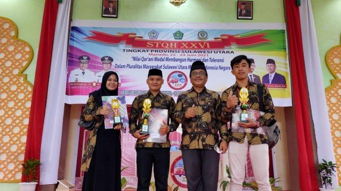 Hasil STQ, 3 Peserta Harumkan Nama Bolsel di Tingkat Provinsi Sulut