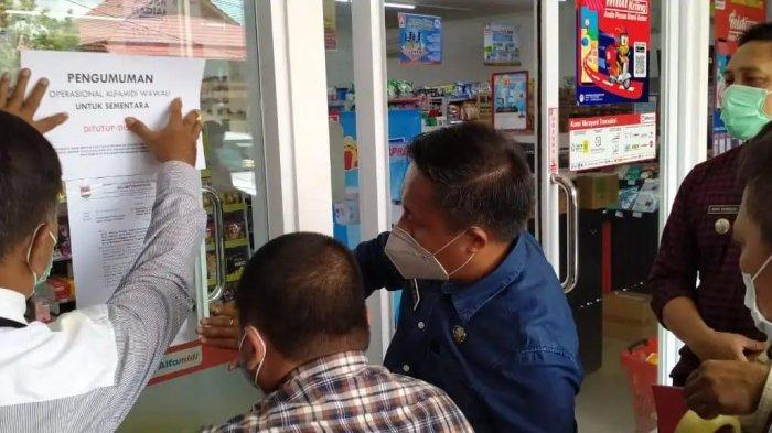 Abaikan Prokes, Salah Satu Ritel di Wawali Ratahan Mitra Ditutup