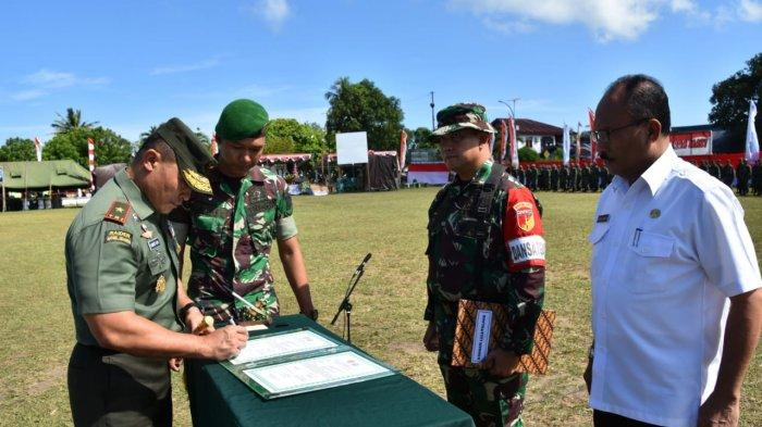 Danrem Tutup Program Bhakti TNI di Talaud