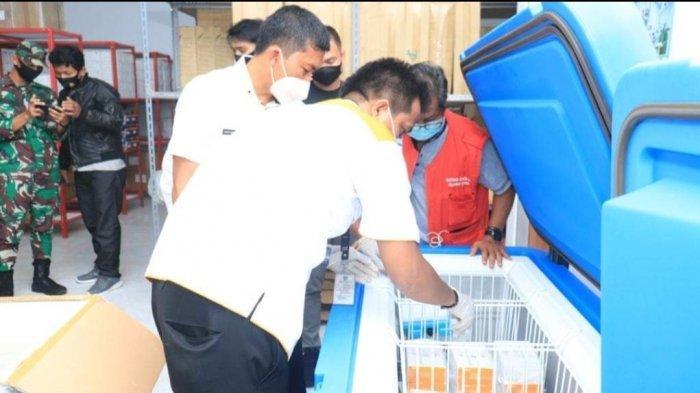 Ketersediaan Vaksin Covid-19 di Kabupaten Bolmut Masih Cukup