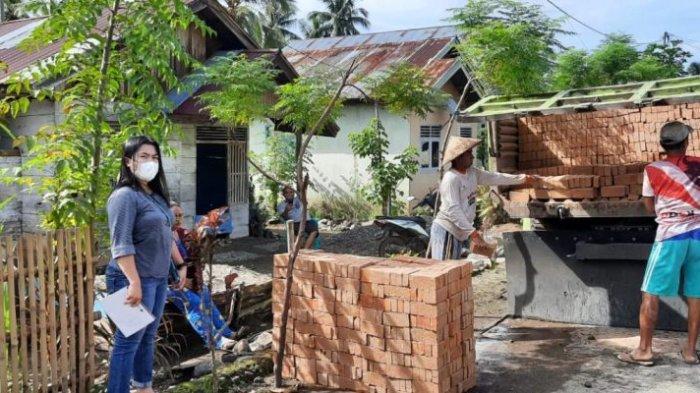 BSPS di Kabupaten Bolsel Sudah Masuk Suplai Bangunan Tahap 1